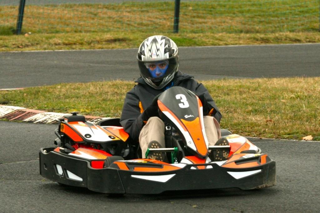 Enterrement de vie de célibataire - Karting
